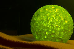 Zielony piłka balon, cień, lato, ścinek, prosty Zdjęcia Royalty Free