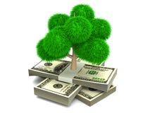 Zielony pieniądze ilustracji