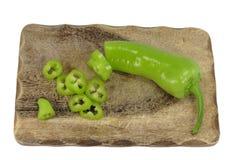 zielony pieprz Obrazy Royalty Free