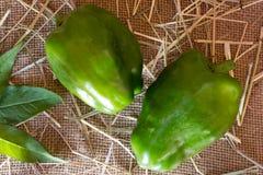 zielony pieprz Fotografia Royalty Free