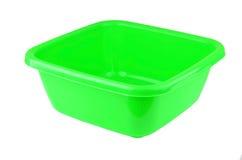 Zielony plastikowy basen Fotografia Stock