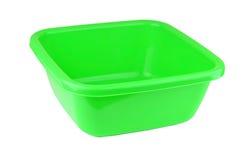 Zielony plastikowy basen Zdjęcie Royalty Free