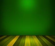 Zielony pokój Obrazy Royalty Free