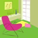 zielony pokój Fotografia Stock