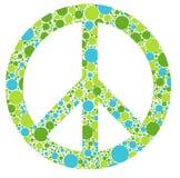 Zielony pokojowy Zdjęcia Royalty Free