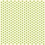 Zielony polek kropek papier Obrazy Stock
