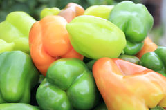 zielony pomarańcze pieprzu kolor żółty Fotografia Royalty Free