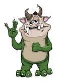 zielony potwór Zdjęcie Stock