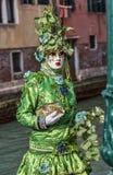 Zielony przebranie zdjęcie royalty free