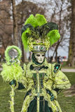 Zielony przebranie fotografia royalty free
