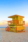 zielony ratownika pomarańcze wierza kolor żółty Obrazy Stock