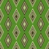 Zielony rocznika papier Zdjęcia Stock