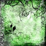 Zielony rocznika tło Fotografia Stock