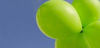 Zielony środowiskowy sztandaru wizerunek Zdjęcie Stock