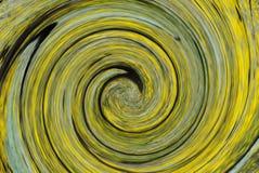 Zielony round twirl abstrakta tło Fotografia Royalty Free