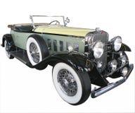 zielony samochód 1920 s Zdjęcia Royalty Free