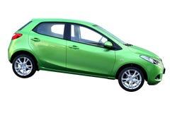 zielony samochód Obrazy Royalty Free