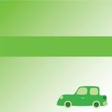 zielony samochód Zdjęcie Stock
