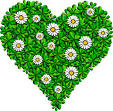 zielony serce Royalty Ilustracja