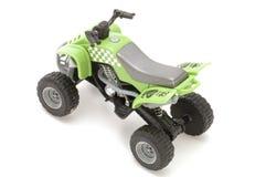 zielony silnik motocykla Zdjęcie Stock