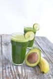 zielony smoothie obrazy royalty free
