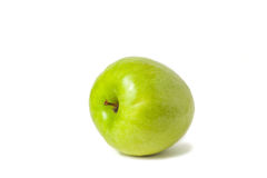 - zielony soczyste jabłko Zdjęcia Stock