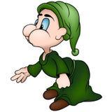 zielony sprite Zdjęcie Royalty Free