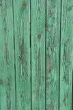Zielony stary ogrodzenie Obraz Royalty Free