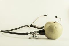 zielony stetoskop Obraz Royalty Free