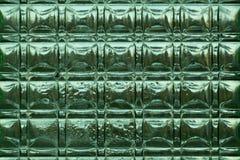 Zielony szkło Fotografia Stock