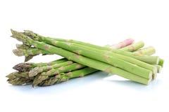 Zielony szparagowy warzywo odizolowywający Obraz Stock