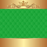 Zielony tło Zdjęcie Royalty Free