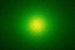 Zielony tło z światłem w centrum Zdjęcia Royalty Free