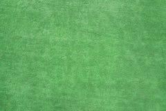 Zielony tło z boisko materiału teksturą obrazy stock