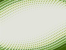 zielony tła halftone Zdjęcie Stock