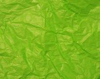 zielony tło papier Zdjęcie Stock