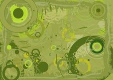 zielony tła wektora Fotografia Royalty Free