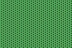 Zielony tapetowy tło wzór Obrazy Royalty Free