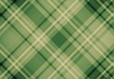 Zielony tartan szkockiej kraty tkaniny wzoru tło Obrazy Stock