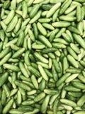 Zielony tindora warzywa stosu tło Zdjęcia Stock
