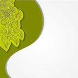 Zielony tło Obrazy Royalty Free