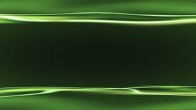 Zielony tło z lekkimi smugami Fotografia Royalty Free