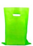 zielony torba zakupy Fotografia Royalty Free