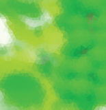 Zielony trójbok Obraz Stock