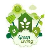 Zielony utrzymanie royalty ilustracja