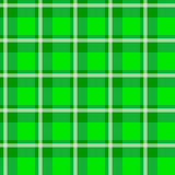 Zielony w kratkę płótno Obrazy Royalty Free