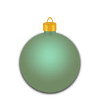 Zielony Wakacyjny ornament Obraz Stock