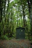 Zielony WC Zdjęcia Royalty Free