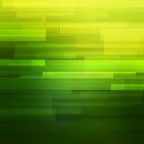 Zielony wektorowy abstrakcjonistyczny tło z liniami Obraz Royalty Free