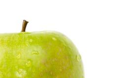 - zielony white jabłko obraz royalty free